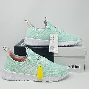 NIB Adidas Cloudfoam Pure Ice Mint Womens 9.5 B9C